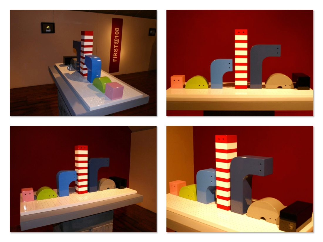 Maquette for FIRST@108 award, titled 'Evolution'