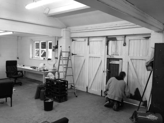 studio progress